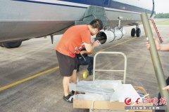 湖南今年首次利用飞机增雨